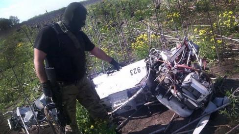 """UAV """"tiền đồn"""" của Nga bị bắn rơi"""