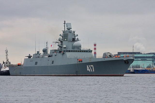 Tàu lớp Admiral Gorshkov.