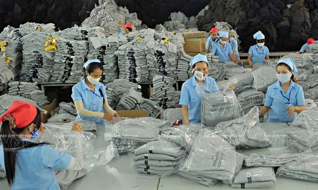 Dệt may Việt Nam sẽ hưởng lợi nhiều từ TPP. Ảnh: Báo ảnh Việt Nam.