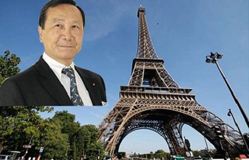 Triệu phú Hoàng Chúc khiến cả thế giới xôn xao khi đòi mua lại cả tháp Effel.