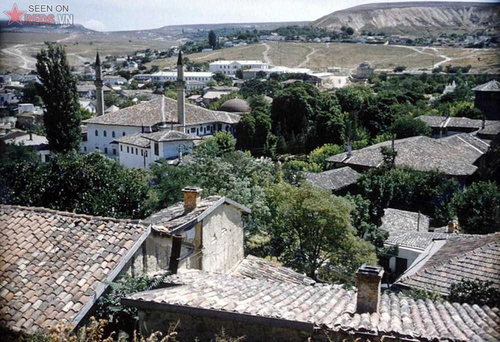 Thị trấn Khanate Bakhchisarai, thủ phủ xa xưa của Crimea khi người Hồi giáo Tartar còn thống trị khu vực này.