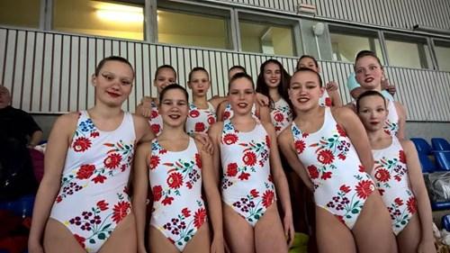 Vikia và đội bơi nghệ thuật