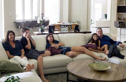Gia đình doanh nhân Zietz - Giám đốc điều hành Công ty TounchSuite