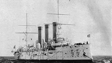 Hình ảnh chiến hạm Diana khi được đưa vào sử dụng. Ảnh: tư liệu