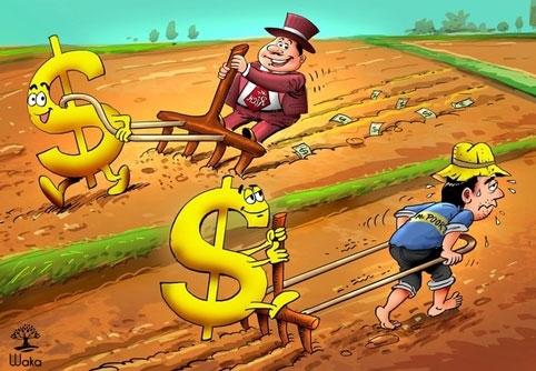 Người giàu rộng rãi, người nghèo ki bo