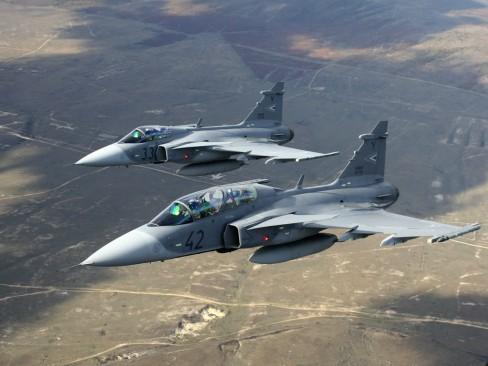 Chiến đấu cơ Saab JAS-39 Gripen với mức giá phải chăng được Việt Nam quan tâm.