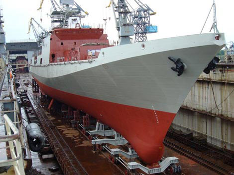 Thân tàu lớp Admiral Grigorovich