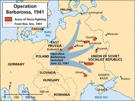 """""""Kế hoạch Barbarossa""""."""