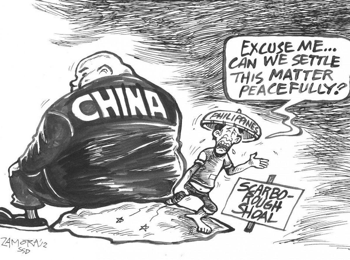 Trung Quốc chiếm bãi cạn Scarborough của Philippines trên Biển Đông năm 2012 là nguyên nhân trực tiếp khiến Manila khởi kiện Bắc Kinh