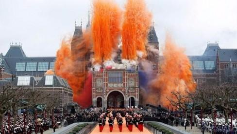 Bảo tàng Rijks của Amsterdam (Ảnh: Dean Mouhtaropoulos/Getty)