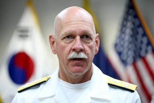Đô đốc Scott Swift, tân Tư lệnh Bộ Tư lệnh Thái Bình Dương, Hoa Kỳ. Ảnh: Reuters.