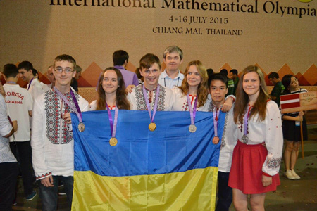Đội tuyển Ukraina tại Chiangmai, Thái Lan
