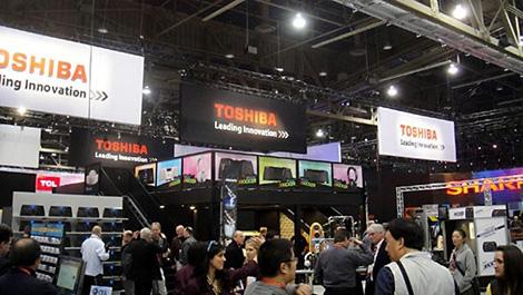 Thương hiệu Toshiba từng được ưa chuộng tại nhiều quốc gia trên thế giới.