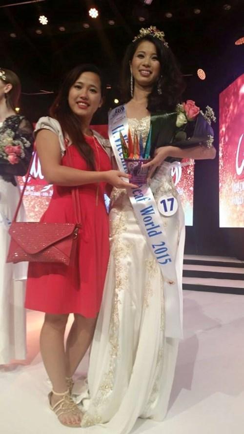 Đây là lần đầu tiên Việt Nam có đại diện tham dự và giành giải trong cuộc thi Hoa hậu khiếm thính toàn cầu