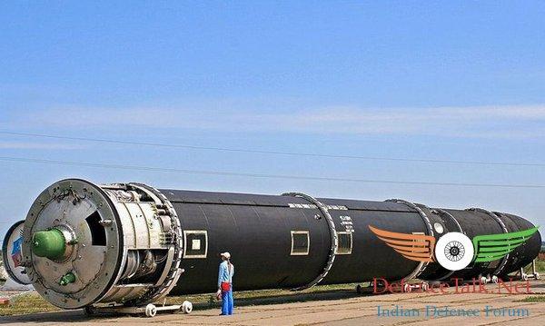 Tên lửa đạn đạo xuyên lục địa SS-18 Satan