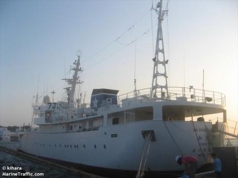 Tàu Hayato khi còn mang quốc tịch Nhật Bản.