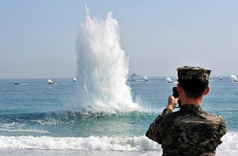 Gần 100 nghìn binh sĩ Mỹ và Hàn Quốc tập trận chung từ ngày 17/8.