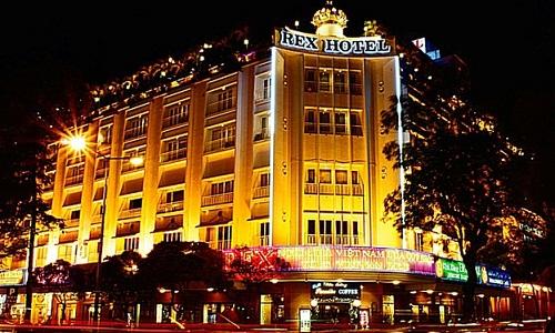 Khu Arcade ở khách sạn Rex, ngay trung tam TP.HCM