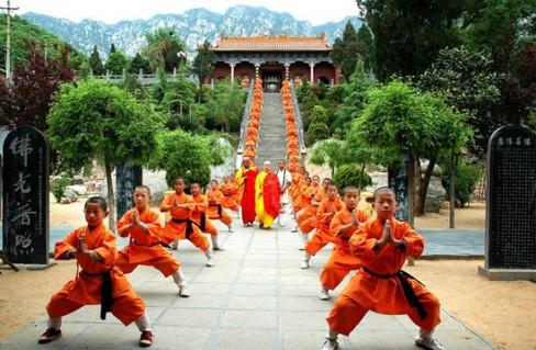 Thiếu Lâm Tự - cái nôi của nền võ thuật Trung Hoa.