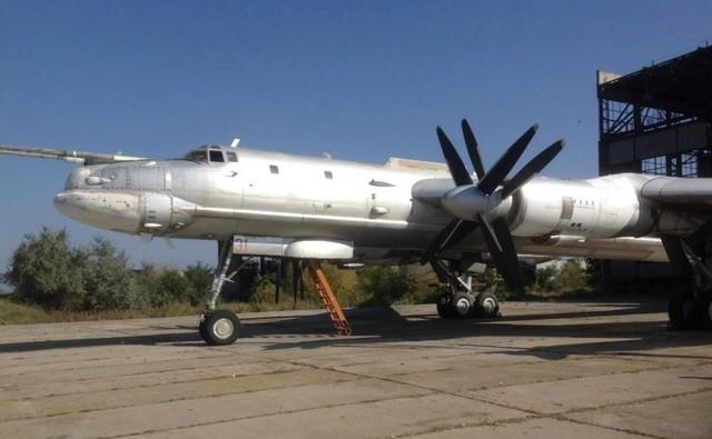 Một chiếc Tu-95MS của Ukriane.