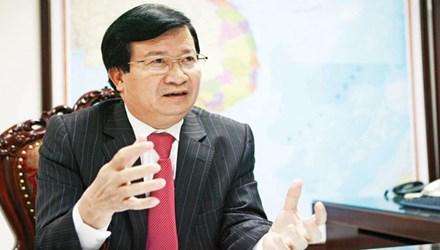 Bộ trưởng Trịnh Đình Dũng. Ảnh: Hồng Vĩnh.