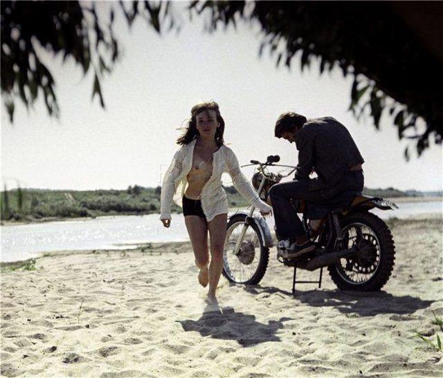 """Một cảnh trong phim """"Khúc trữ tình cho những kẻ đang yêu"""", 1974."""