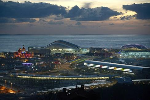 Nga đã chi rất nhiều tiền để tổ chức Olympic Sochi. (Ảnh: Bloomberg)