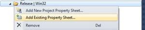 PropertyPageAddExisting