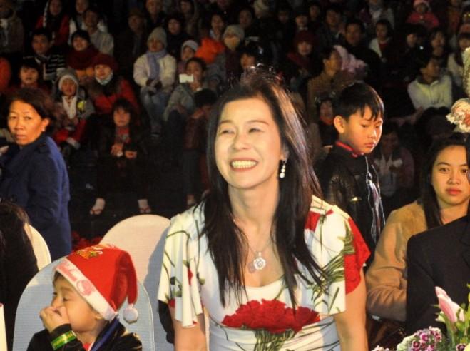 Bà Hà Thúy Linh t¡i mÙt sñ kiÇn °ãc tÕ chéc t¡i TP à L¡t     ¢nh: LÂM THIÊN
