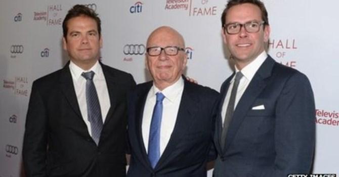 Rupert Murdoch nói ông rất vui về việc bổ nhiệm các con mình vào ghế lãnh đạo công ty của mình. Ảnh Getty