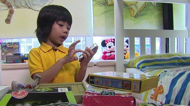 Ở Singapore, việc chăm lo giáo dục được tiến hành từ lúc trẻ ở độ tuổi mầm non - Ảnh: CNN