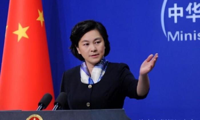 Người phát ngôn Bộ Ngoại giao Trung Quốc Hoa Xuân Doanh (Oánh)