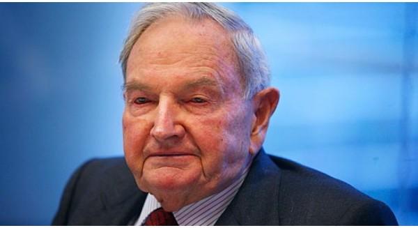 Tỷ phú David Rockefeller năm nay đã 100 tuổi: