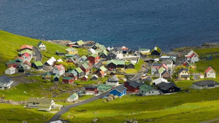 Một ngôi làng tại Đan Mạch, đẹp như tranh vẽ (Ảnh: Google Image Travel)