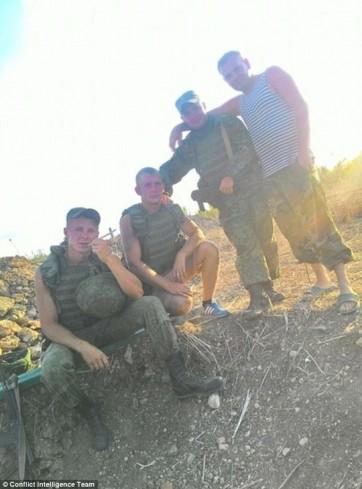 Một tấm ảnh được đánh dấu vị trí địa lý gần Hama. Ảnh: CIT ------------ Xem thêm: Lính Nga 'xuất hiện' tại nhiều địa điểm ở Syria,