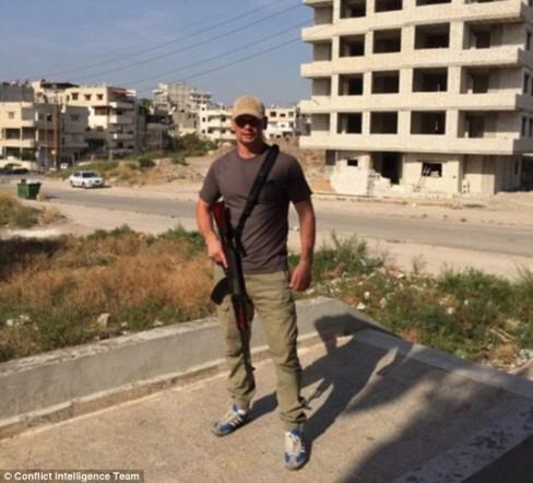 Trang Instagram của Ilya Gorelykh đăng ảnh được đánh dấu vị trí địa lý ở Aleppo - Syria. Ảnh: CIT ------------ Xem thêm: Lính Nga 'xuất hiện' tại nhiều địa điểm ở Syria.