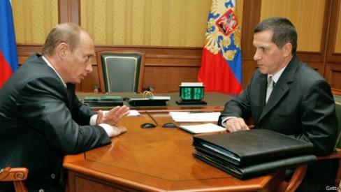 Tổng thống Nga và ông Yuri Trutnev