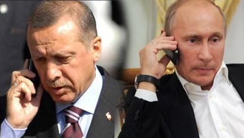 Tổng thống Thổ Nhĩ Kỳ Erdogan và Tổng thống Nga Putin. Ảnh: intizar.web.tr