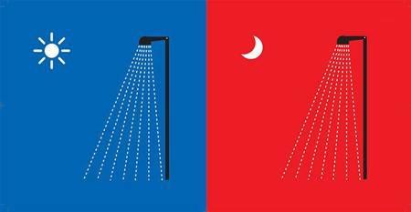 Tắm táp: Người phương Tây thích tắm sáng rồi mới đi làm. Người phương Đông thích tắm tối trước khi đi ngủ.