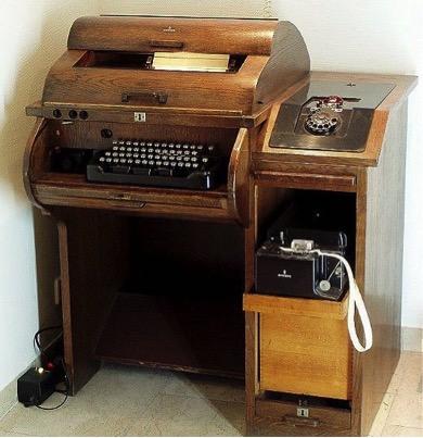 Máy fax cổ
