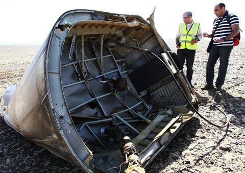 Máy bay A321 Nga rơi trên bán đảo Sinai do khủng bố đánh bom