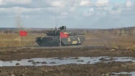 Xe tăng chiến đấu chủ lực Oplot-M chạy thử nghiệm