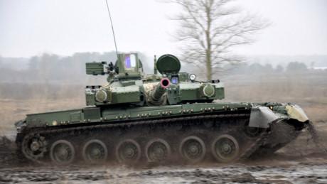 Chuyến thăm này nhằm kiểm tra tiến độ sản xuất xe tăng Oplot-M của nhà máy theo hợp đồng cung cấp 49 chiếc tăng chủ lực này cho Lục quân Hoàng gia Thái Lan, với giá trị lên tới 200 triệu USD và được ký kết từ tháng 9/2011.
