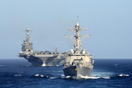 Biển Đông là một trong những khu vực mà Mỹ cần tìm kiếm và khẳng định tầm ảnh hưởng, theo chiến lược của nước này (Ảnh minh họa)