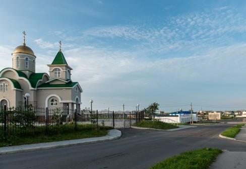 Một góc nhà thờ ở đảo Kuril