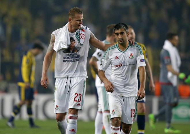 Mặc dù quan hệ hai nước Nga - Thổ cực kỳ căng thẳng nhưng cầu thủ hai đội vẫn rất thân thiện