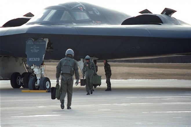 Siêu máy bay ném bom tàng hình  B-2 Spirit