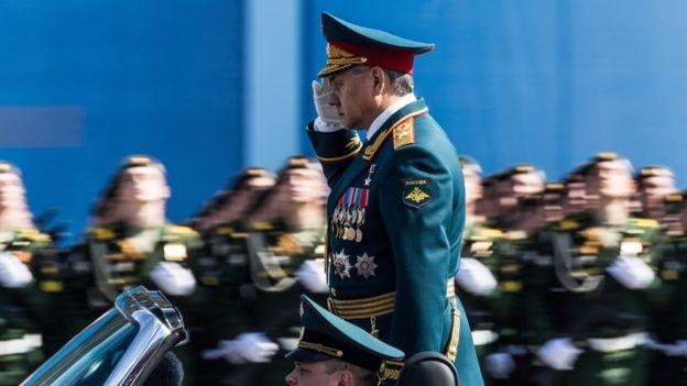 Bộ trưởng Quốc phòng Nga Sergey Kuzhugetovich Shoygu đổ lỗi cho phương Tây làm mất an ninh toàn cầu