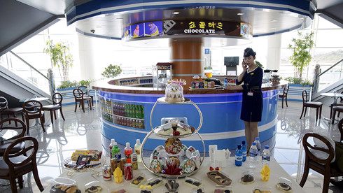 Một góc sân bay Bình Nhưỡng KCNA/REUTERS