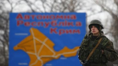 Người lính Nga trên đất Crimea của Ukraina, 4 tháng ba 2014